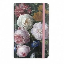 Carnet notite A6 Natura moarta cu flori de Jan Davidsz