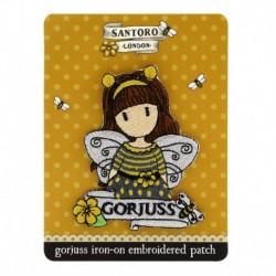 Ecuson brodat Gorjuss Bee Loved
