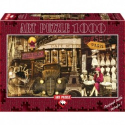 Puzzle 1000 piese - STREETS OF PARIS