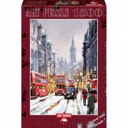Puzzle 1500 piese - WHITEHALL IN SNOW