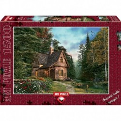 Puzzle 1500 piese - WOODLAND COTTAGE