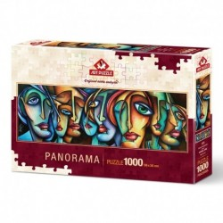 Puzzle 1000 piese - Panoramic Urban-MICHAEL LANG