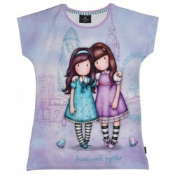 Tricou copii Santoro Gorjuss-Friends Walk Together