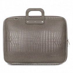 Geanta lux business laptop 17 in Cocco-Grej