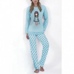 Pijama dama Gorjuss Pretty as a Picture lunga