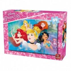 Puzzle 99 piese Princesses