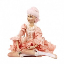 Statueta decorativa model Maria Antoaneta roz 30 cm