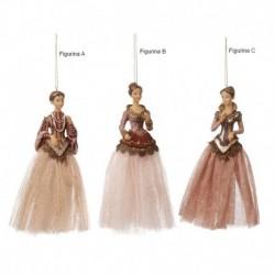 Castelana cu rochie din tiul 18 cm