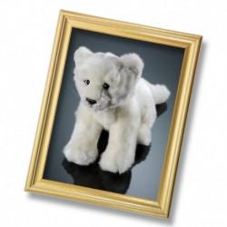 Jucarie din plus - Pui leu alb