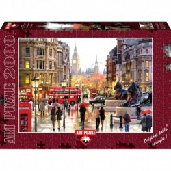 Puzzle 2000 piese London Landscape - RICHARD MACNEIL