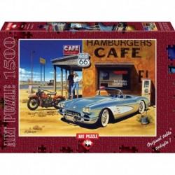 Puzzle 1500 piese Arizona Cafe - HIROAKI SHIOYA