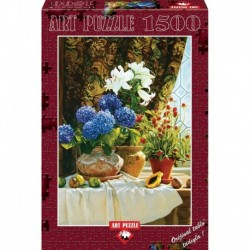 Puzzle 1500 piese Hydrangeas - ROBIN ANDERSON