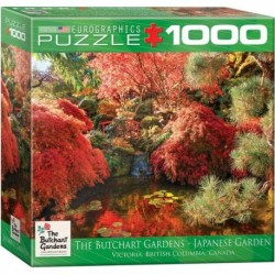 Puzzle 1000 piese Butchart Gardens Japanese Garden