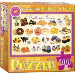 Puzzle 100 piese Halloween Treats