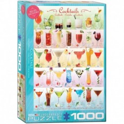 Puzzle 1000 piese Cocktails