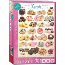 Puzzle 1000 piese Donuts