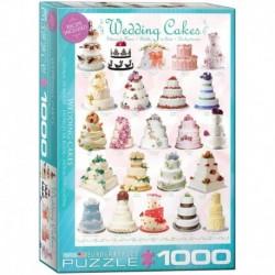 Puzzle 1000 piese Wedding Cakes