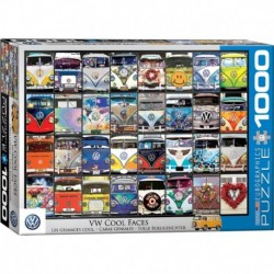 Puzzle 1000 piese VW Cool Faces
