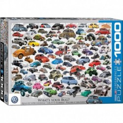 Puzzle 1000 piese VW Beetle - What's your Bug?