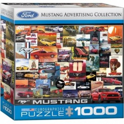 Puzzle 1000 piese Ford Mustang Advertising Collection
