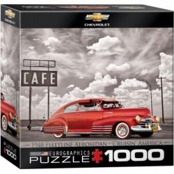 Puzzle 1000 piese 1948 Fleetline Aerosedan Cruisin' America