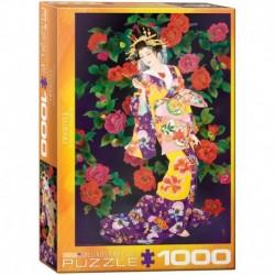 Puzzle 1000 piese Tsubaki - Haruyo Morita