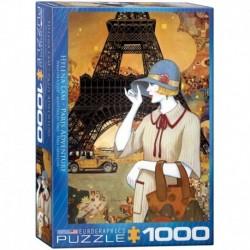 Puzzle 1000 piese Paris Adventure Helena Lam (mare)