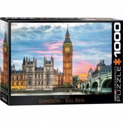 Puzzle 1000 piese London Big Ben