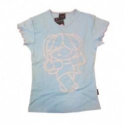 Tricou fete bleu Santoro - Tutti Cuti