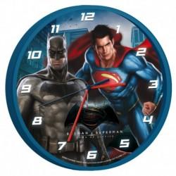Ceas de perete Batman si Superman