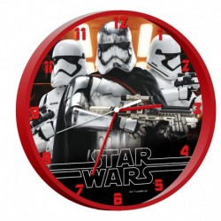 Ceas de perete Star Wars rosu