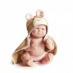 Bebelus in prosop ursulet cu gluga