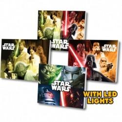 Tablou cu led Star Wars 12 cm display