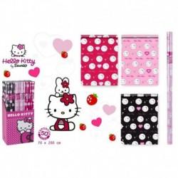 Hartie de impachetat Hello Kitty 200 x 70 cm