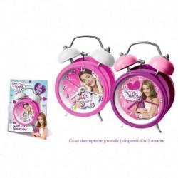 Ceas desteptator 12 cm Violetta