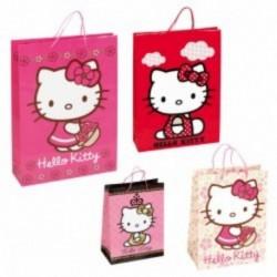 Punga hartie Hello Kitty 33X24,5X13 cm