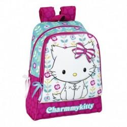 Ghiozdan scoala colectia Charmmy Kitty Flowers 2