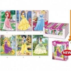 Puzzle Disney Printese (35 piese)-6 modele