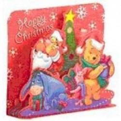 Set 5 felicitari 3D-Ursuletul Winnie