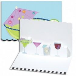 Invitatie 3D Cocktails