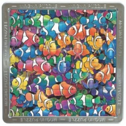 Puzzle magnetic holografic Pesti arlechin