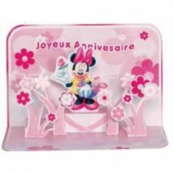 Felicitare 3D Minnie-Disney