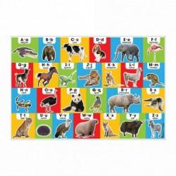 Puzzle de podea Alfabetul in engleza - Melissa & Doug