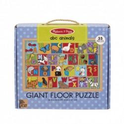 Primul meu puzzle de podea eco Alfabetul Animalelor - Melissa and Doug
