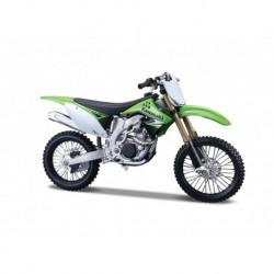 Motocicleta Kawasaki KX 450F  scara 1:18
