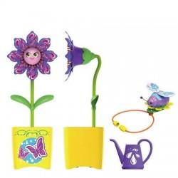 Floare interactiva cu accesorii - Galben