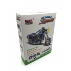 Creeaza-ti propriul tau motor motocicleta albastra