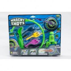 Set 3 figurine si accesorii Wacky Shots
