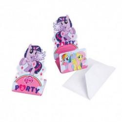Set 8 Invitatii& Plic My Little Pony
