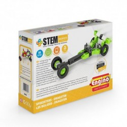 Joc educativ  ENGINO Eroii STEM - Masini rapide: Dragster